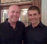 Matthew Armstrong with Joe Williams