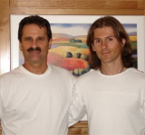 Matthew Armstrong with John Thomas