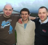 Matthew Armstrong with Pete & Paul Morrison