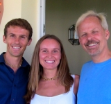 Matthew & Victoria with Dr Robert Young